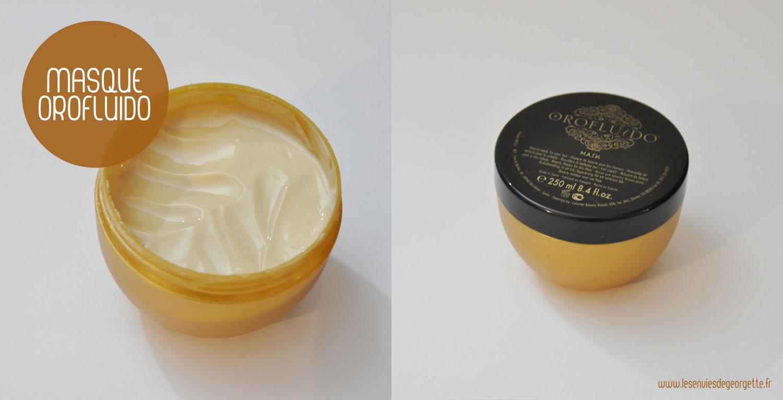 Coup de coeur masque capillaire orofluido les envies for O miroir magique montpellier