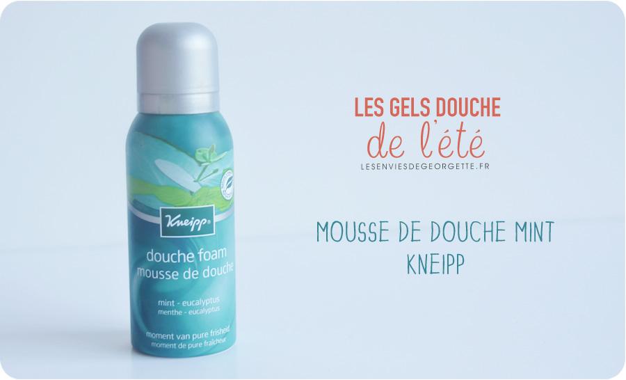 Top 5 des gels douche de l t les envies de georgette for Odeur qui remonte de la douche
