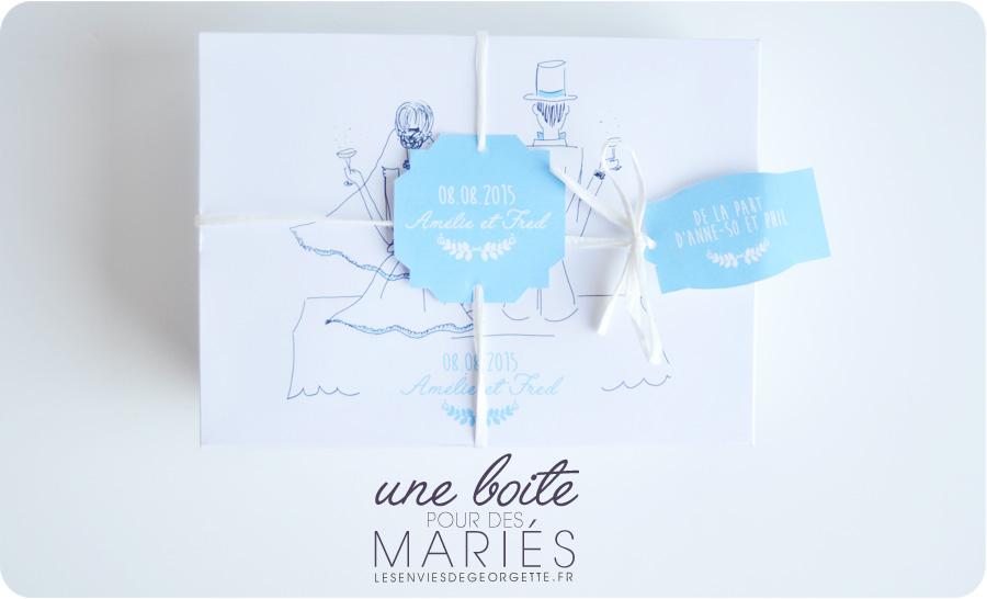 Un Cadeau Original Pour Des Maries Diy Mariage Les Envies De