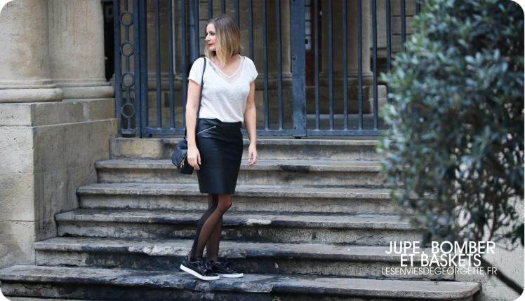size 40 cheap for sale release date Une jupe, un bomber et des baskets ! – Les Envies de Georgette