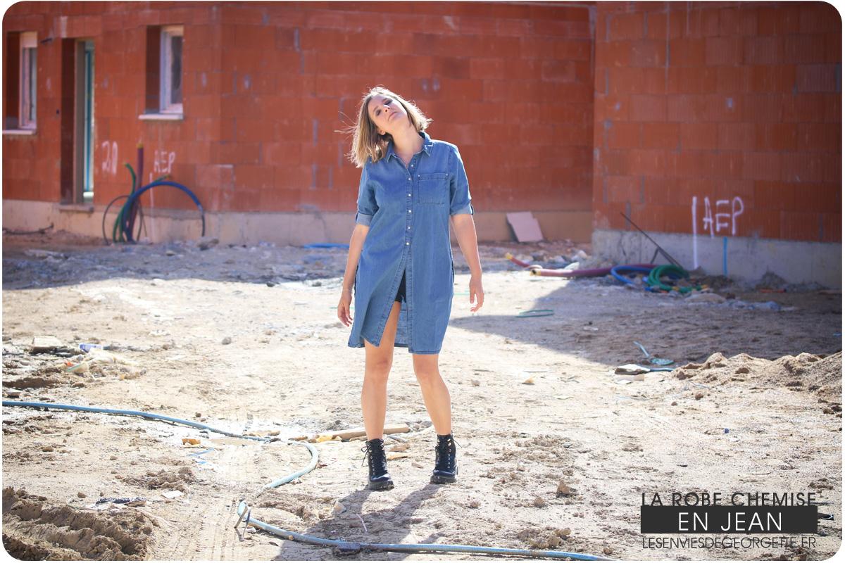 60927d746d8 La robe chemise en jean – Les Envies de Georgette