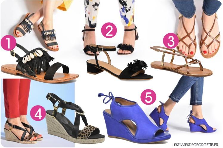 sortie en ligne marque célèbre disponible 10 idées de chaussures d'été !* – Les Envies de Georgette