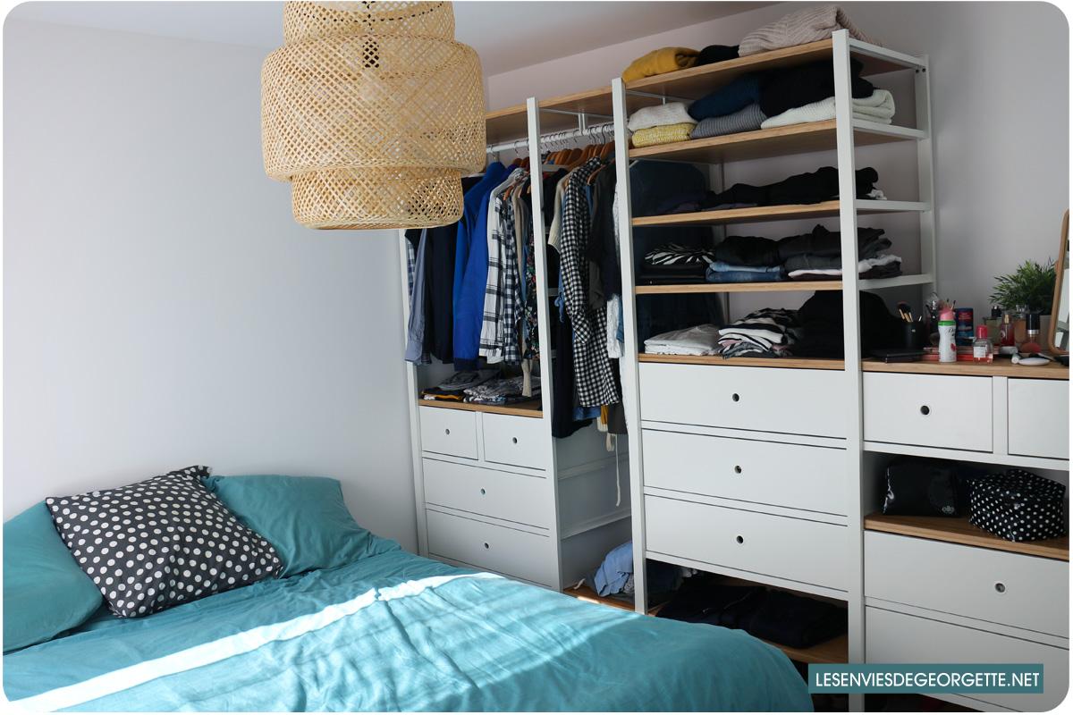 alerte dressing qui d borde comment bien trier ses v tements les envies de georgette. Black Bedroom Furniture Sets. Home Design Ideas